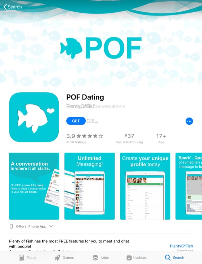 Download Plenty of Fish for iPad | Dating Apps for iPad